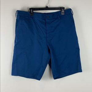 Adidas Golf Shorts Blue Size 36
